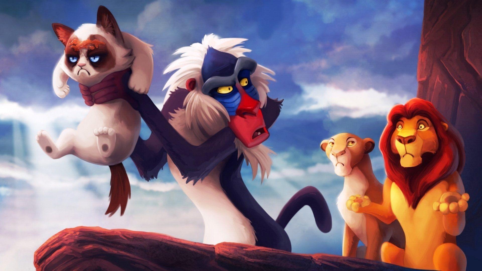 The Lion King Cartoons Monkey Wallpaper Disney Computer