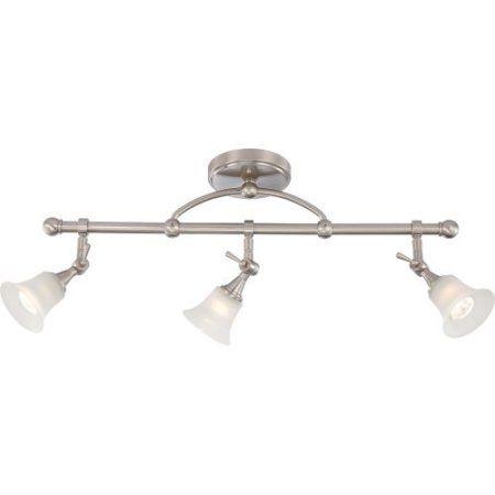 Nuvo Lighting 60/5002 Bathroom Fixtures Loren Indoor Lighting Vanity Light ;Venetian Bronze, Silver