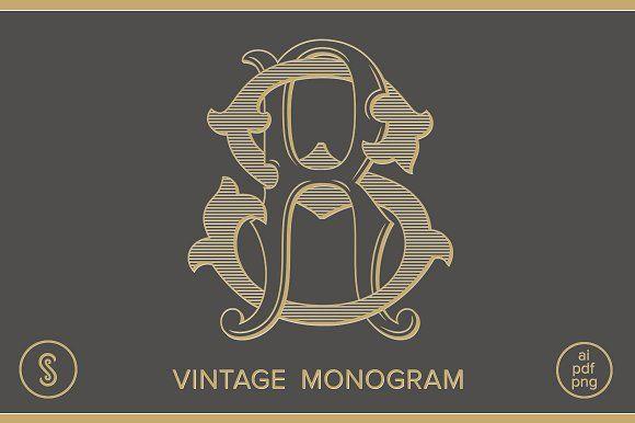 Rs Monogram Sr Monogram Monogram Typography Logo Logo Design