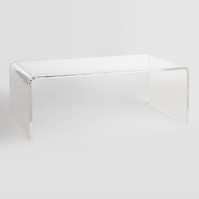 Clear Acrylic Thad Coffee Table Coffee Table Acrylic Coffee