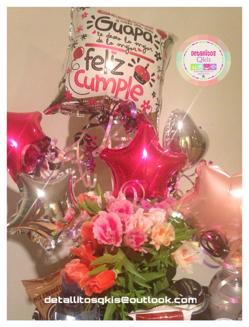 Arreglos Florales Globos Desayunosorpresa Cumpleaños