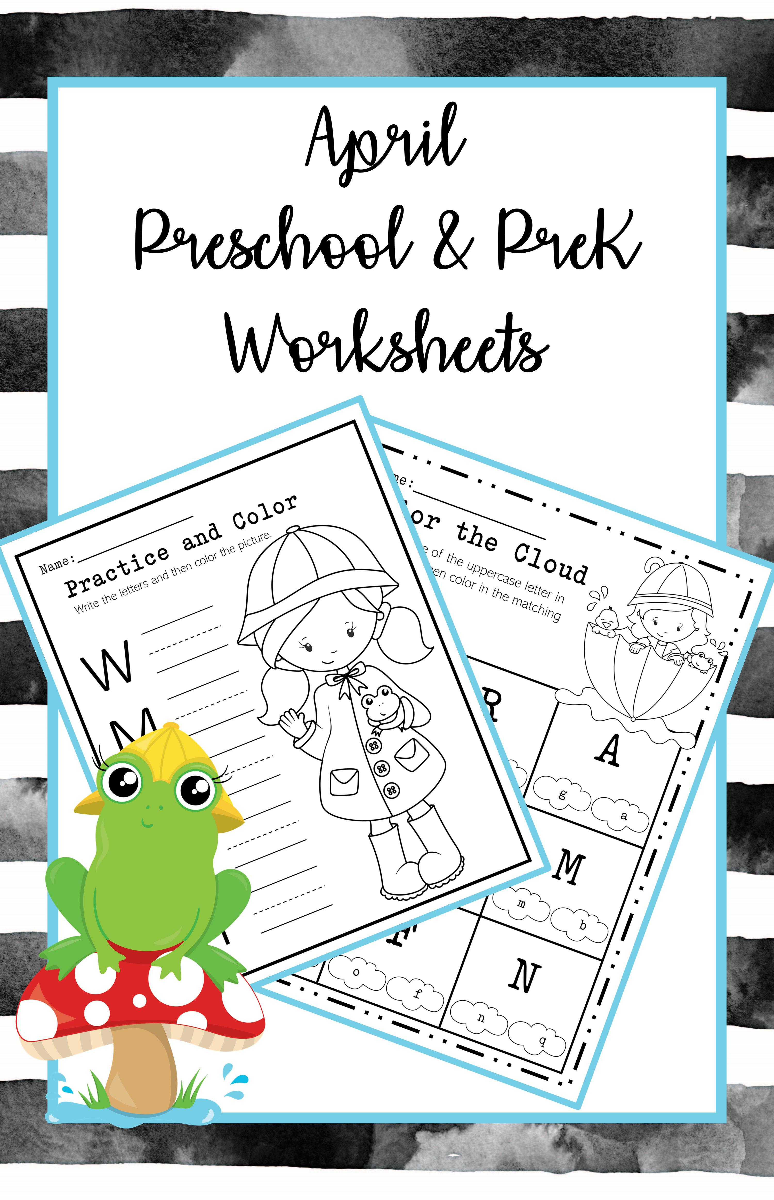 April Preschool And Pre K Worksheets April Showers Distance Learning Pre K Worksheets April Preschool Preschool [ 4650 x 3000 Pixel ]