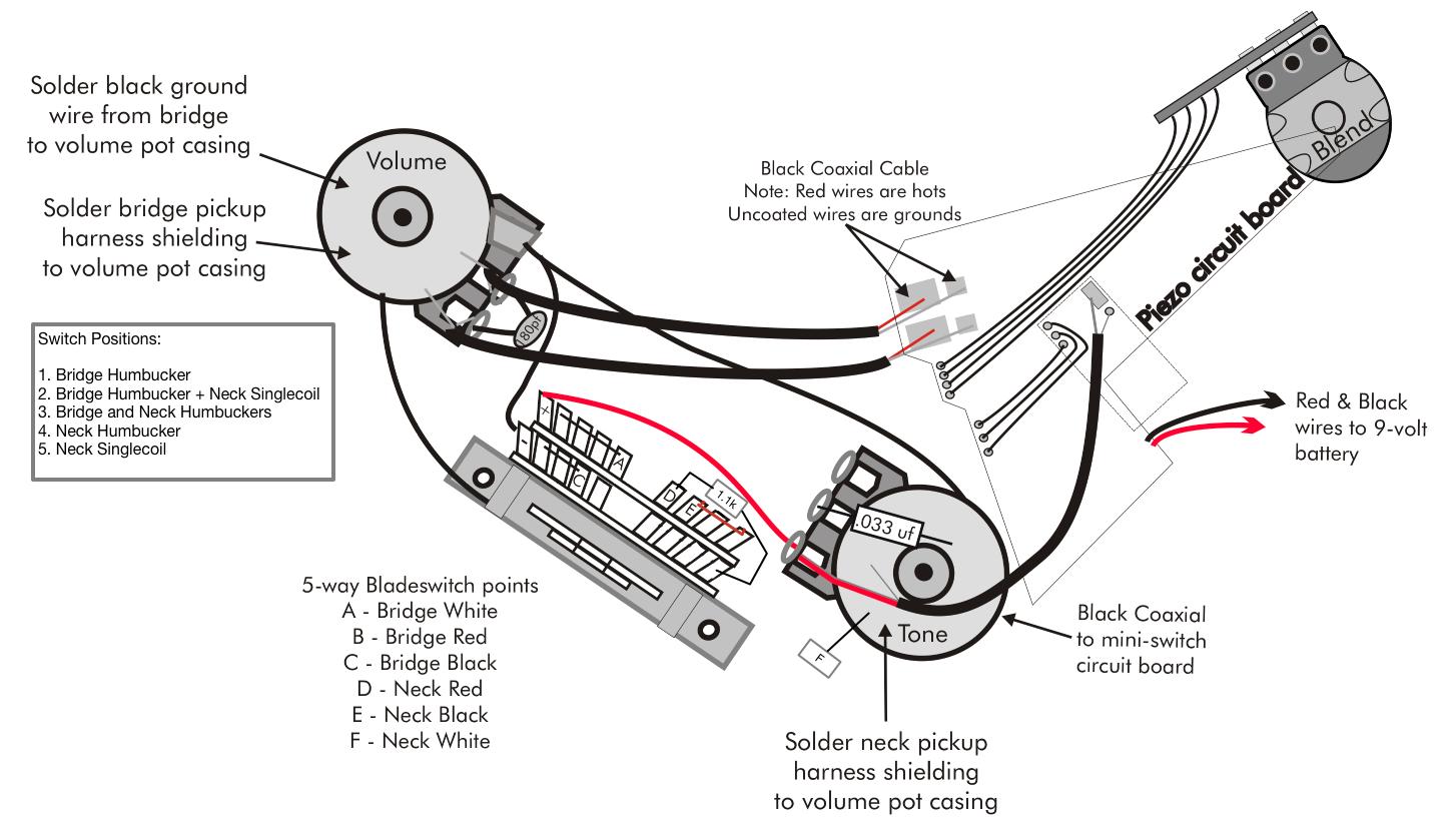 The Best 12 Prs 22 Custom Wiring Diagram Technique