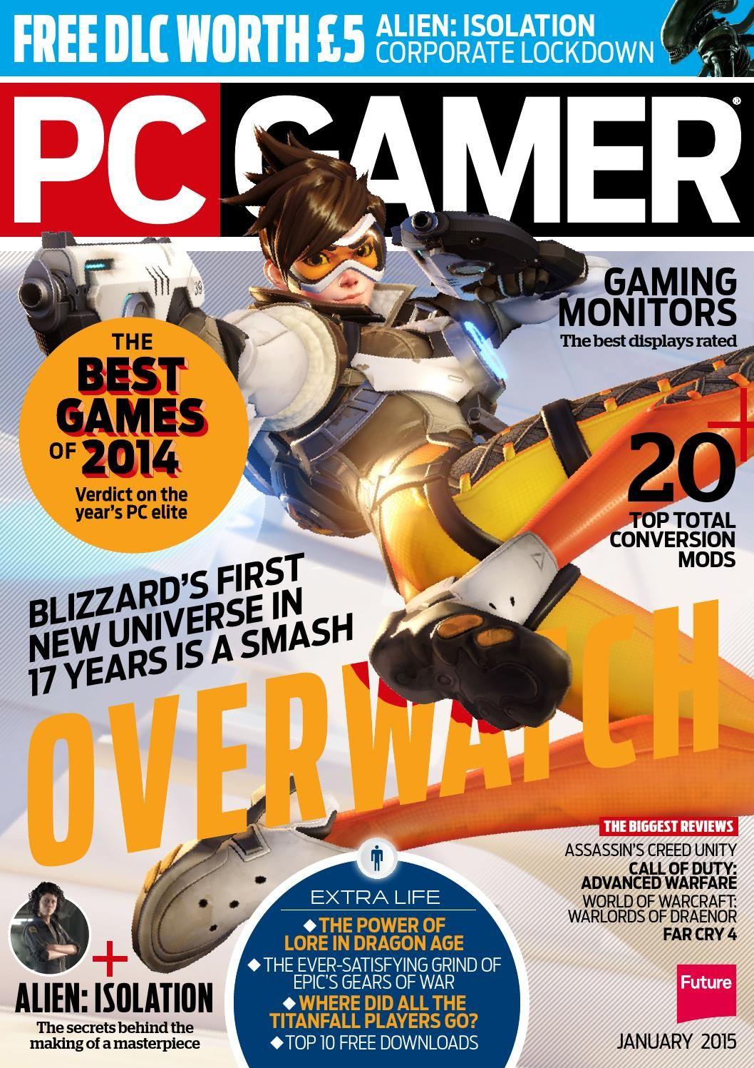 PC Gamer 274 Sampler | MAGAZINES | Pc gamer magazine, Pc
