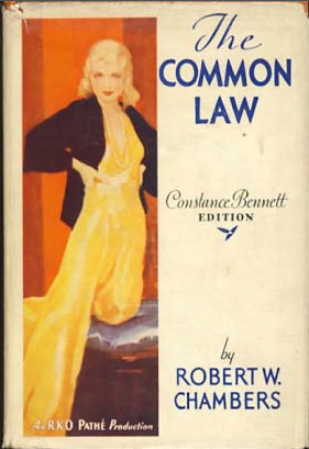 common law 1931 movie poster Secret Beyond the Door
