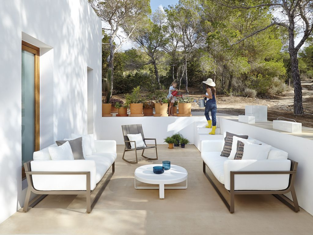 Gandia Blasco Dna Collection Sofa And Armchair Outdoor Furniture  # Muebles Favorita Urgell