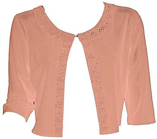 Bolero Boutique Beaded y Women Alivila Shrug Fashion Mesh 3ALR54j