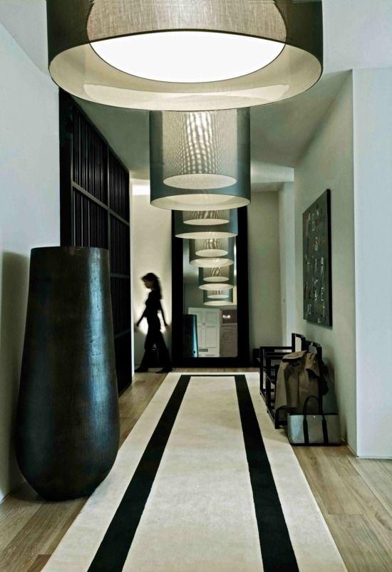 tapis de couloir et d'entrée aux motifs rigolos   decoracion