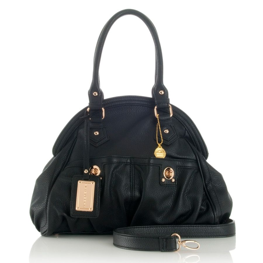 "BIG BUDDHA ""Addison"" Front Pocket Satchel at HSN.com"