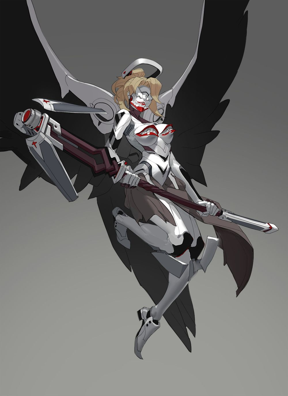 ArtStation - EVA AND OW , Kelvin Chan - More at https://pinterest