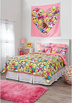 Tween girls bedding comforter sheet sets pillows