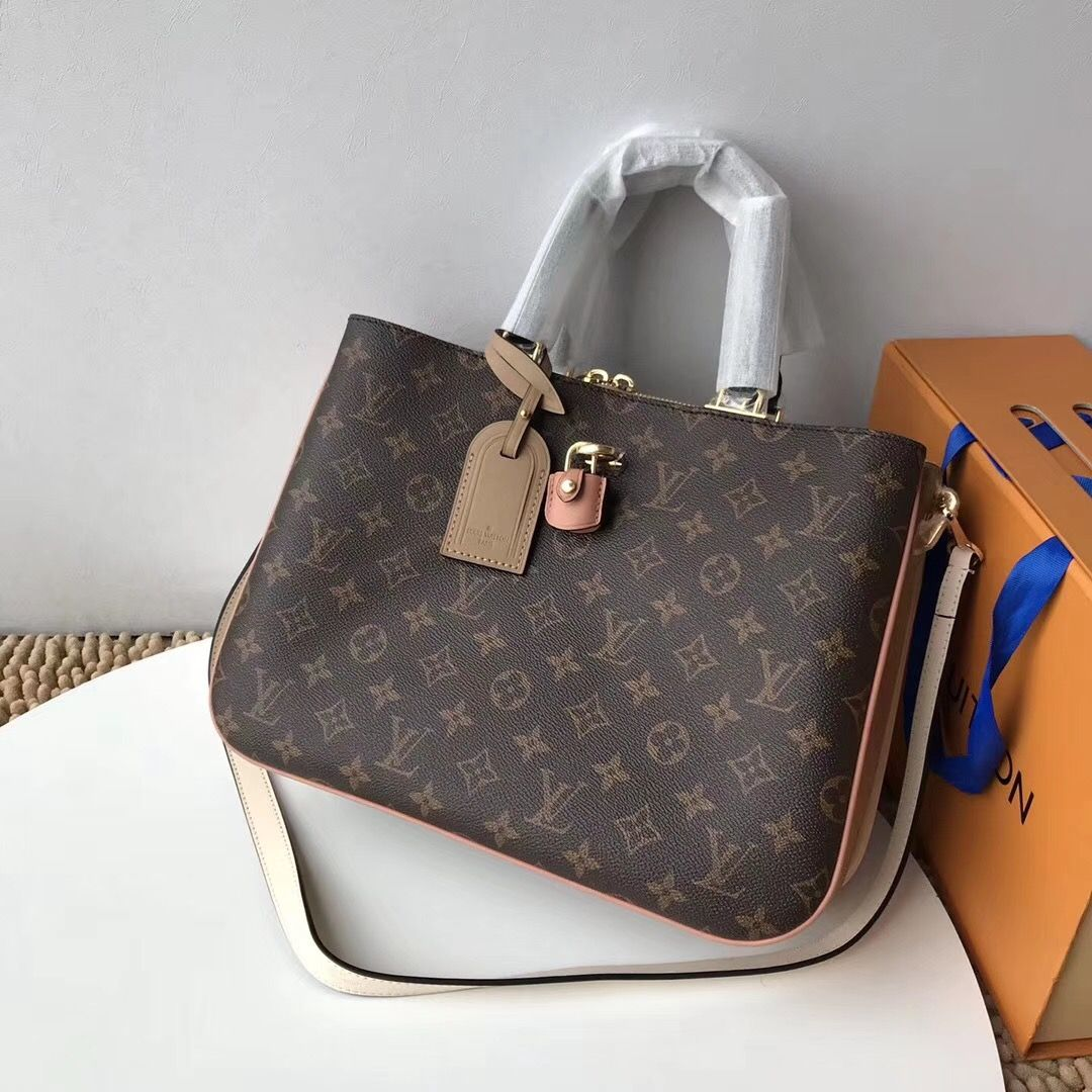 391e87689658 LV Millefeuille bag with two model M44255 M44254. Monogram canvas combined  with luxurious details  lv  lvlover  lvbag  bag  newbag  whatsinmybag   newarrival ...