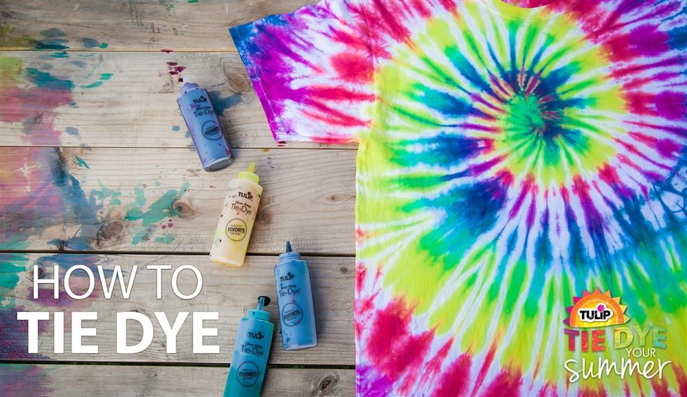 Spiral Technique Let Dry Overnight Rinse Then Wash And Dry As Normal Tie Dye Diy Diy Tie Dye Shirts Tie Dye Patterns Diy