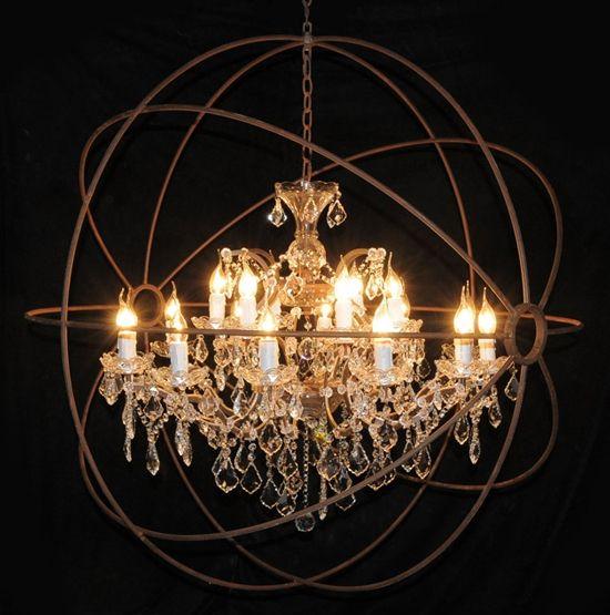 Gyro chandelier merging simplicity and ornate httpwww gyro chandelier merging simplicity and ornate httplightpublic aloadofball Choice Image