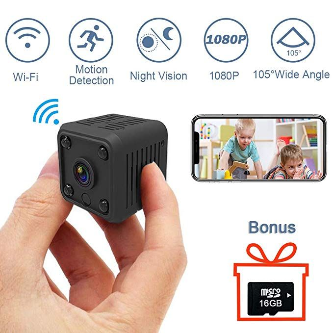 1080P Mini Spy Hidden Camera, SYOSIN Wireless Hidden