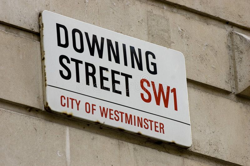 Downing Street Street Sign At The Prime Ministers Office Sponsored Sign Street Downing Office Ministers Ad Street Signs Stockholm Metro England