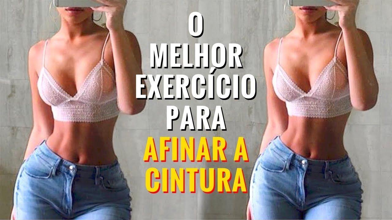 exercicios afinar cintura rapidamente