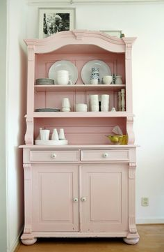 pink dresser?