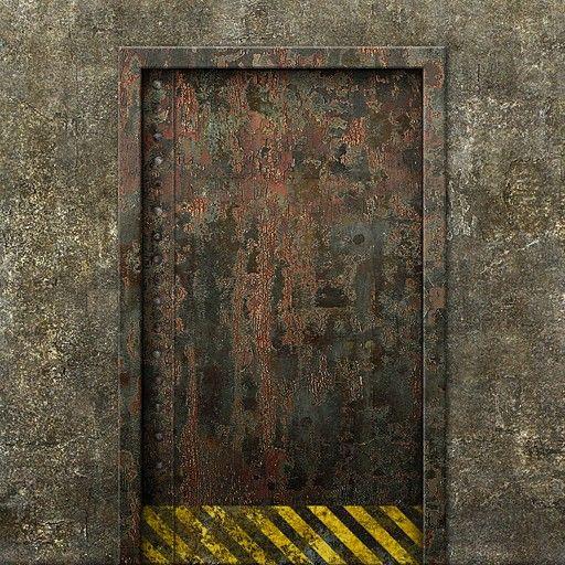 Concrete rusty metal door texture & Concrete rusty metal door texture | BEAUTIFUL STOCK CC | Pinterest ...
