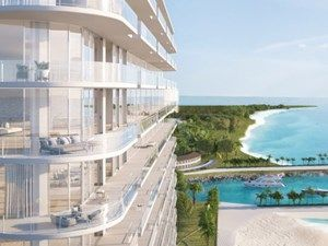Rendering Of The Sls Cancun In Puerto Cancun Mexico Mexico Luxury Real Estate Puerto