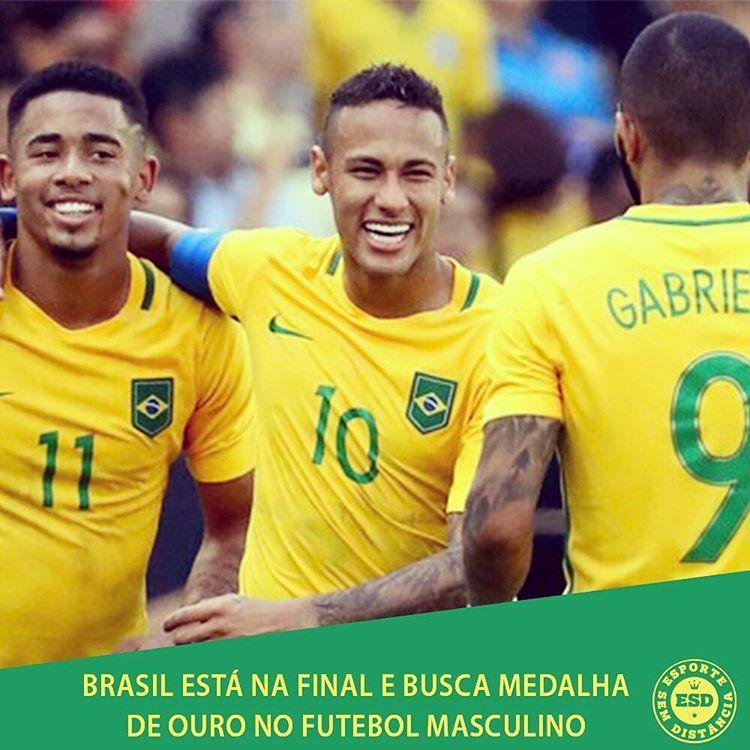 Em Busca Do Ouro Inedito Brasil Na Final Termina O Jogo No Maracana Selecao Brasileira De Futebol Masculino Selecao Brasileira De Futebol Futebol Masculino