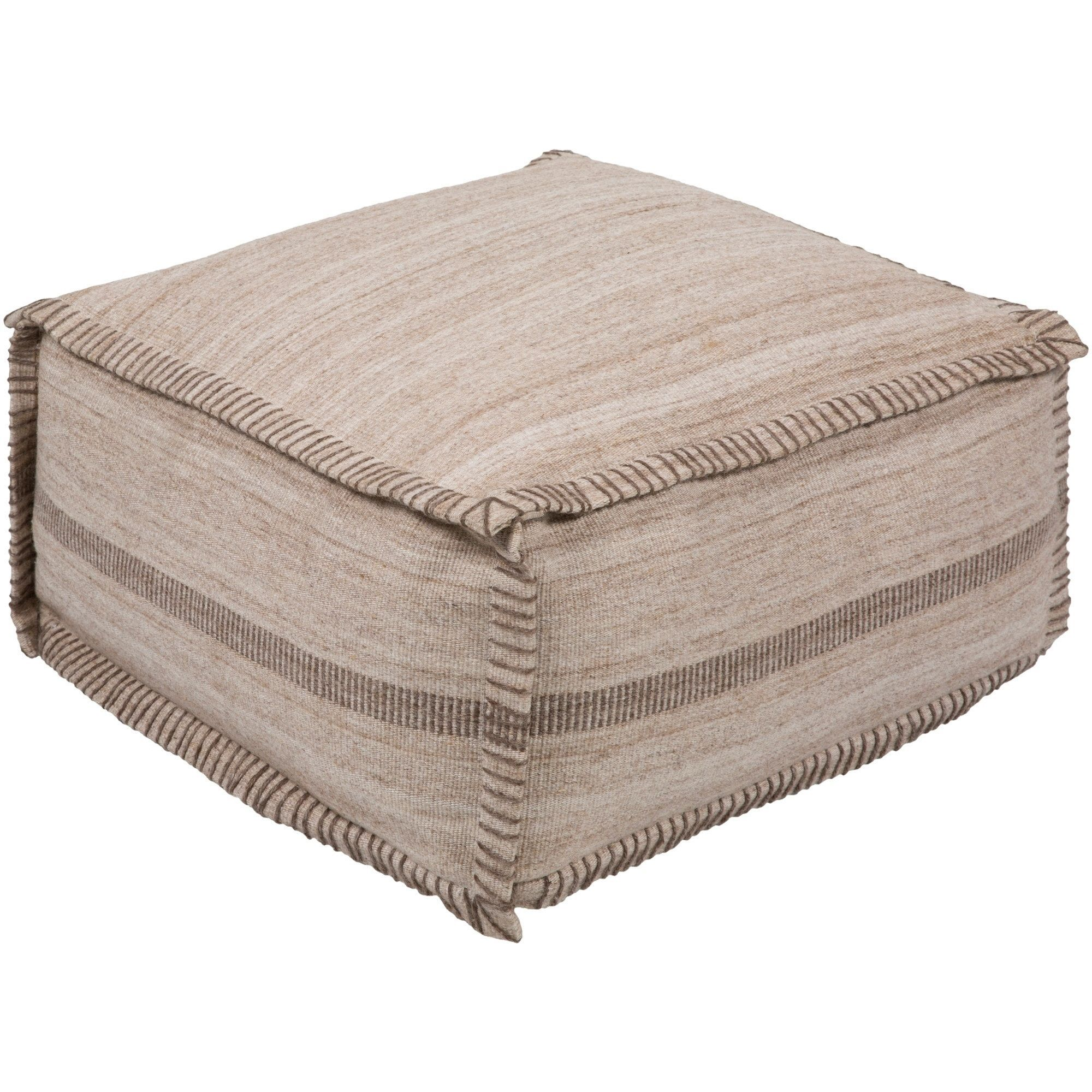 White Pouf Ottoman Interesting Camellia Traditional Textured Ivory 13 Pouf Beige Offwhite Size Design Inspiration
