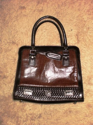 M C Marc Chantal Brown Purse Medium Sized Excellent Condition Ebay
