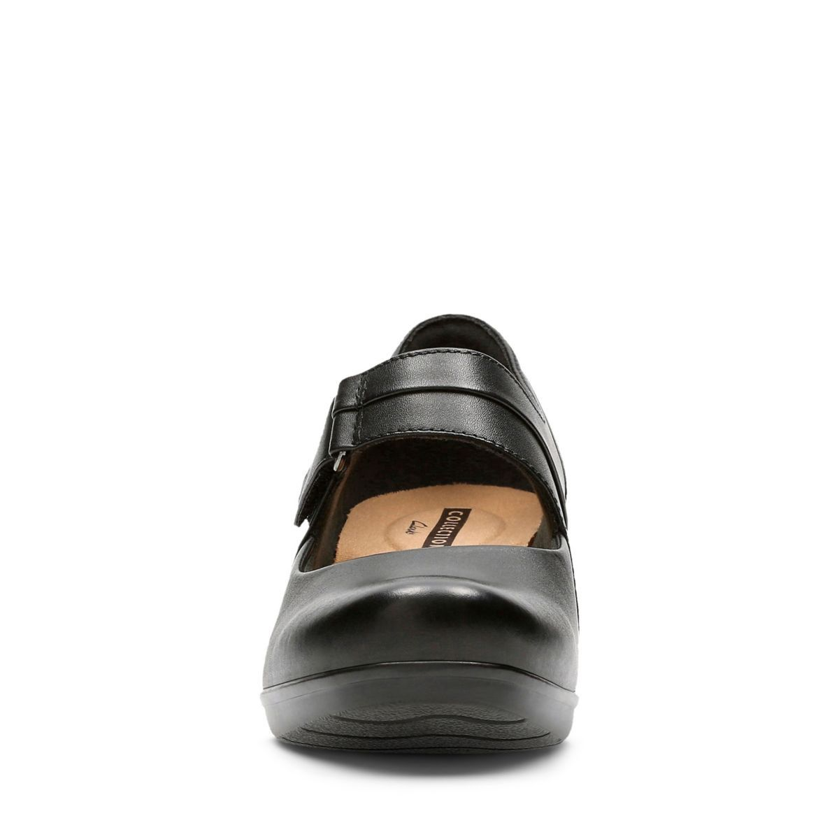 c629f83dd58a Clarks Emslie Lulin - Womens Shoes Black Leather 8.5 E (Wide) Out Of Stock