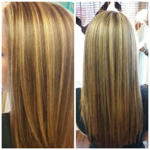 Blonde Highlights With Light Golden Brown Lowlights Hair Blonde