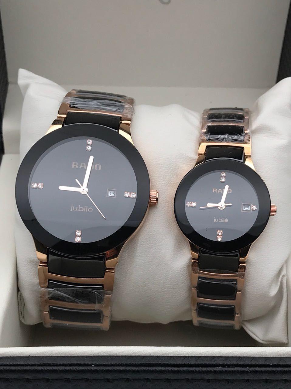 6ced3d14ed RADO JUBLIE Couple Watch Rado Jublie couple watch 1st copy Best Quality  2699/- free