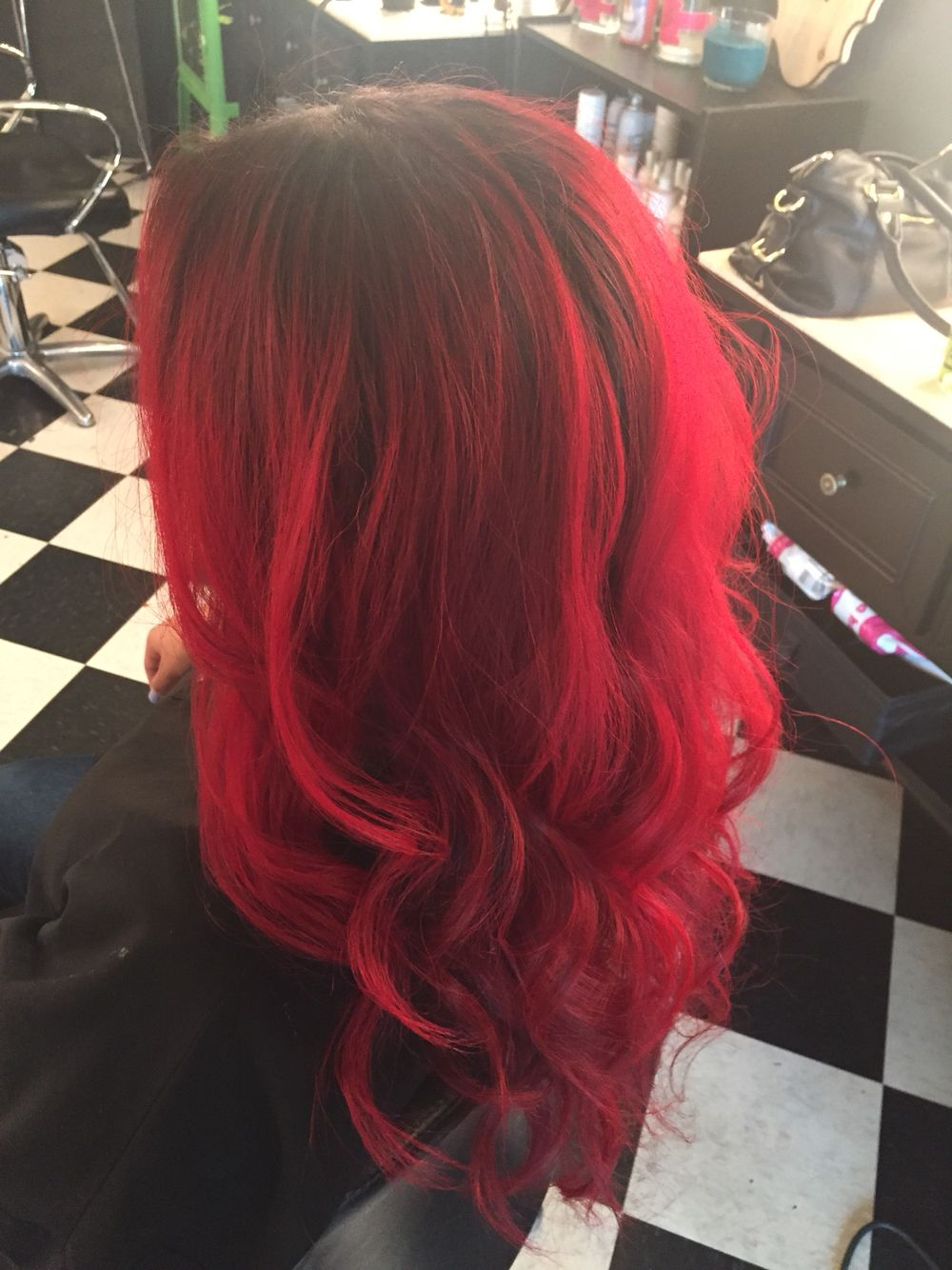 Pin By Sj On Hair Coloring Black Roots Red Hair Hair Beauty Hair Color