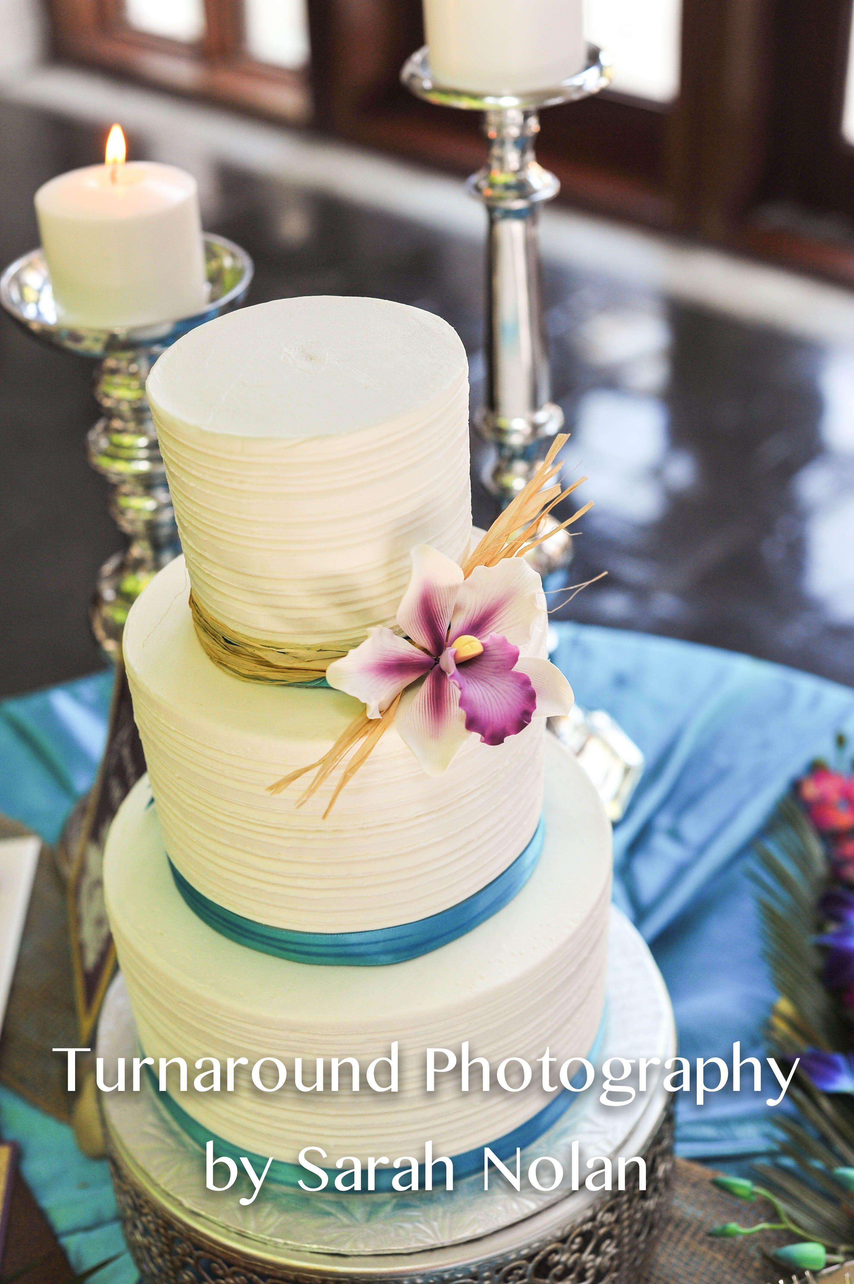Amazing Aloha Themed Wedding Cake Virginia Beach Photography Turnaround