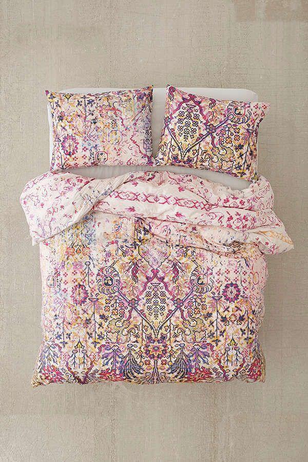 Best Urban Outfitters Maya Worn Carpet Duvet Cover Pillow 640 x 480