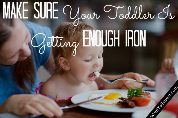 Is your toddler getting enough iron? Add more to your child's diet with these iron-rich foods