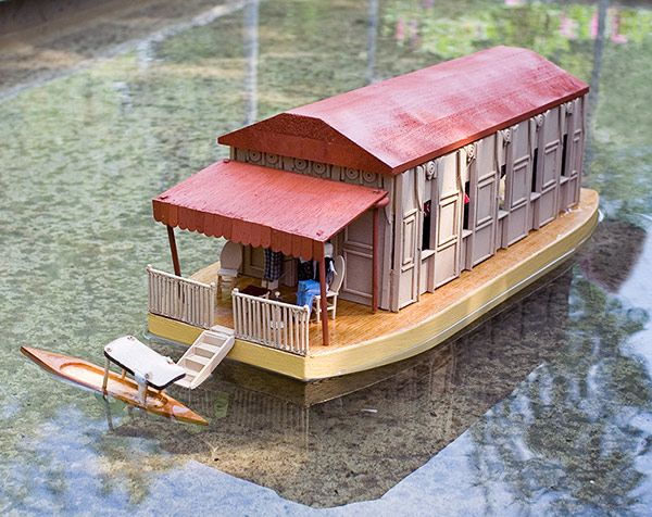 Houseboats of Kashmir The Eli Whitney Museum and Workshop