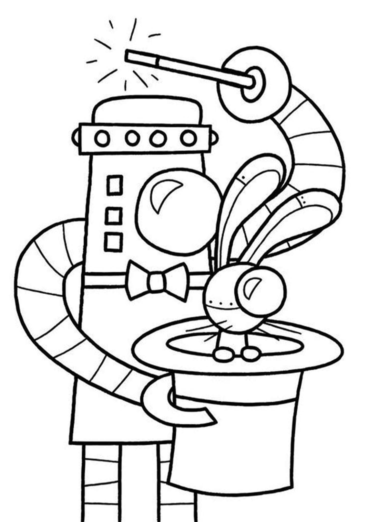 Free Easy To Print Robot Coloring Pages Coloring For Kids Free Coloring Pages Inspirational Cool Coloring Pages