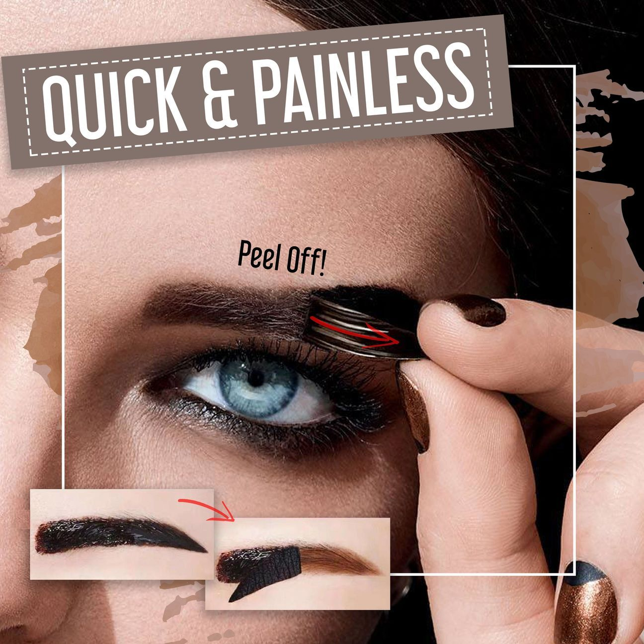 7Days Lasting Peel Off Waterproof Eyebrow Tint