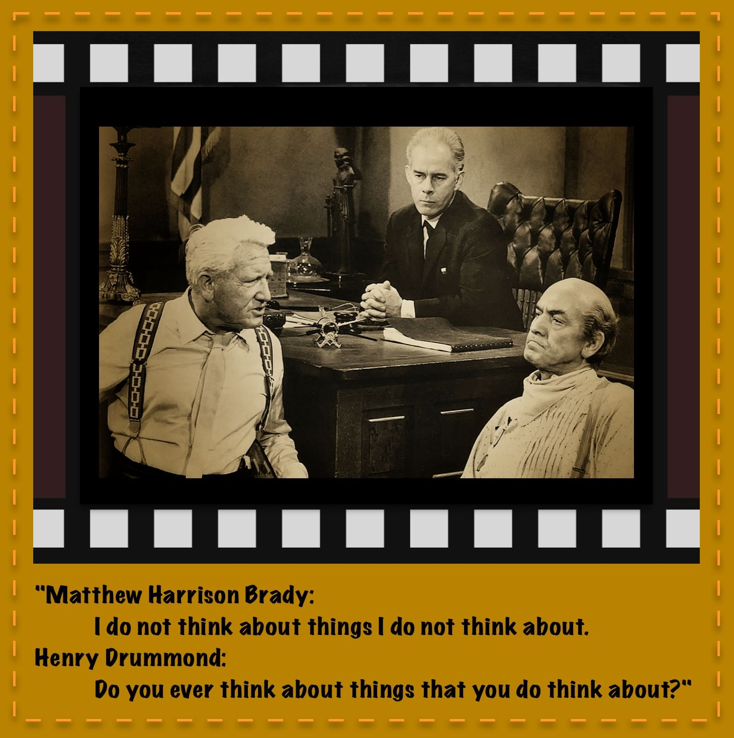 Inherit The Wind Was Metacognition Even A Word Yet