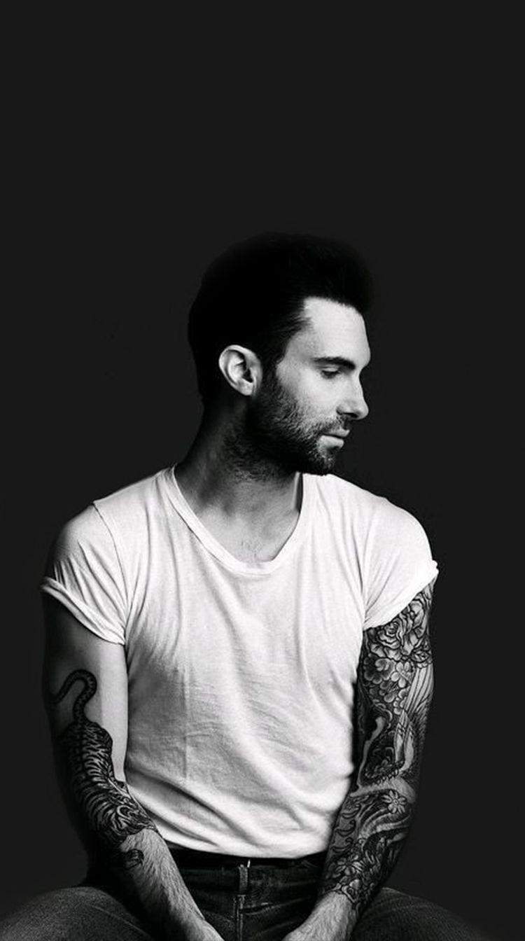 Adam Levine Tiger Tattoo : levine, tiger, tattoo, Levine, Tumblr, Penyanyi,, Orang,, Artis