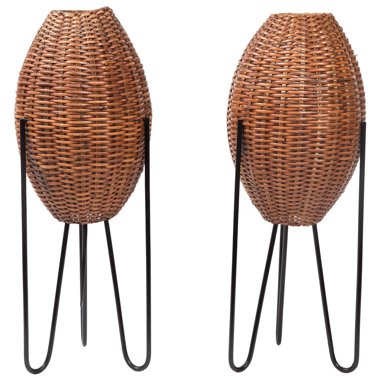 Paul mayen woven tripod hairpin floor lamps tripod floor lamp paul mayen woven tripod hairpin floor lamps mozeypictures Image collections
