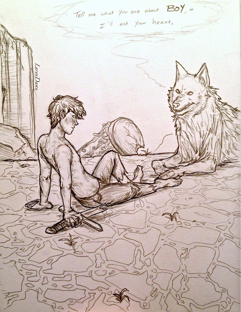 HOO: The Wolf House by LarynDawn.deviantart.com on @deviantART