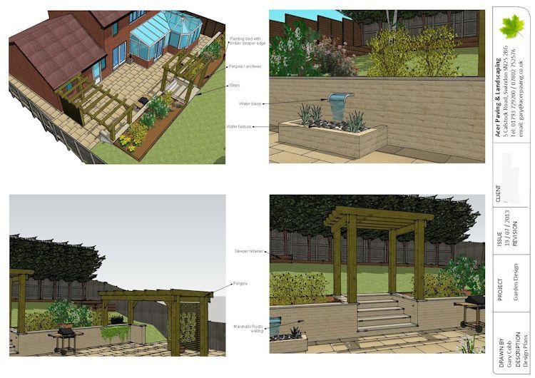 Sketchup Garden Design Garden Design Garden Layout Architecture