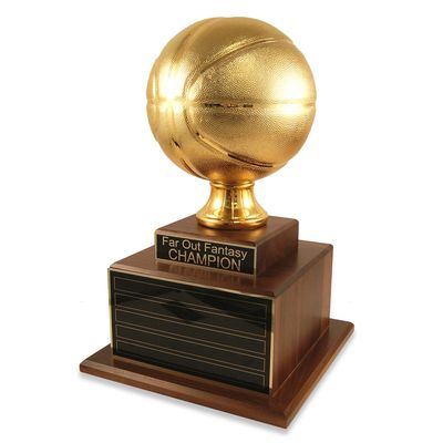 Perpetual Deluxe Gold Basketball Trophy Basketball Trophies Trophy March Madness Trophy