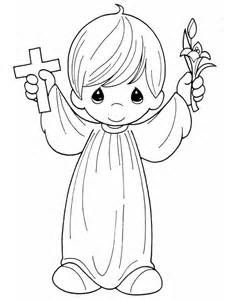 Black Jesus Praying Coloring Pages Precious Moments Coloring