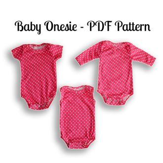 Onesie Pattern   YouCanMakeThis.com