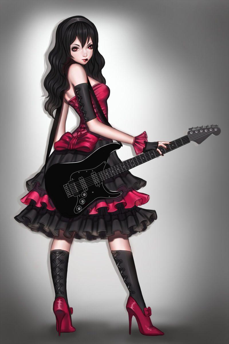 Guitar by naranavy on deviantart fashion art pretty and
