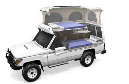 4wd Toyota Landcruiser Camper Arguably The Best 4wd Camper