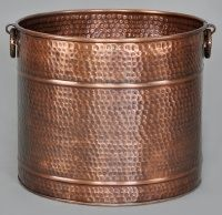 Large copper planter | Gardening | Pinterest | Copper planters and ...