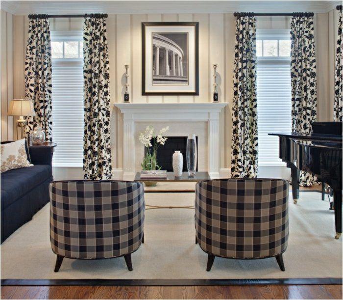 Rideaux modernes salon : donnez un côté cocon à la pièce | Espaces ...