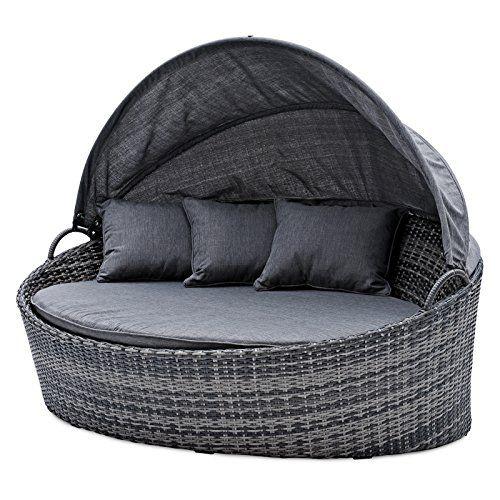 Belardo Minois Garten Sonneninsel Oval Grau Sonnendach Mit Aufstellautomatik Inkl Auflagen Und Zierkissen Lounge Set Online Kaufen Bei Woonio Sonneninsel Polyrattan Sonnendach Zierkissen
